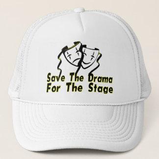 Retten Sie das Drama für die Bühne Truckerkappe