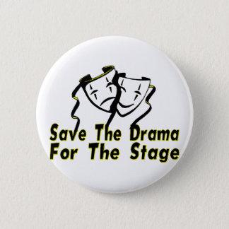 Retten Sie das Drama Runder Button 5,1 Cm
