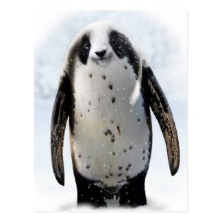 Retten Sie das Panguin! Postkarte