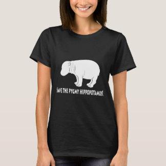 Retten Sie das Pigmy-Flusspferd T-Shirt