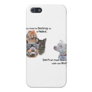 Retten Sie das Pitbull iPhone 5 Schutzhülle