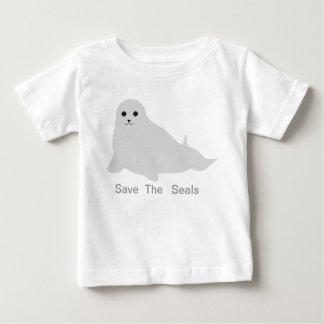 Retten Sie das Siegel Baby T-shirt