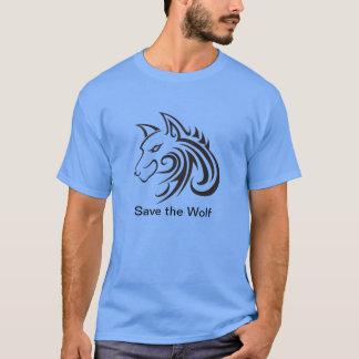 Retten Sie das Wolf-T-Shirt T-Shirt