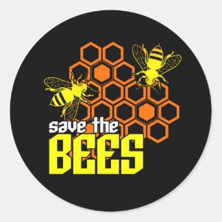 Retten Sie den Bienen Aufkleber