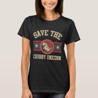 Retten Sie den Chubby Unicorn T-Shirt
