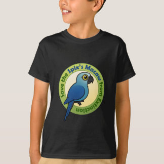 Retten Sie den des Spixs Macaw von der Löschung T-Shirt