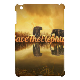 Retten Sie den Elefanten Entwurf iPad Mini Hülle