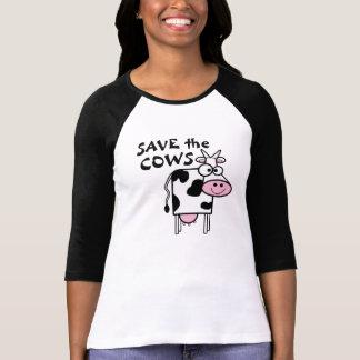 Retten Sie den Kühen Tierrechte T-Shirt