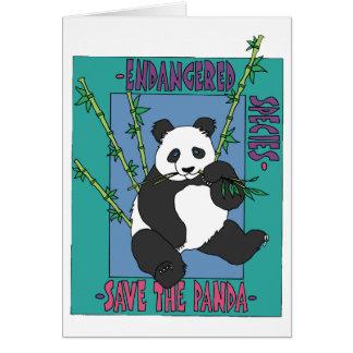 Retten Sie den Panda Karte