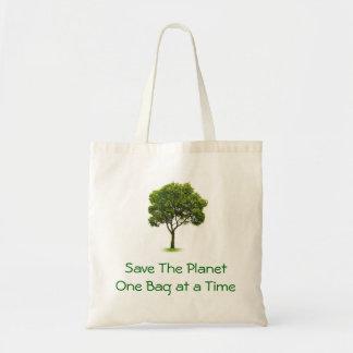 Retten Sie den Planeten Budget Stoffbeutel