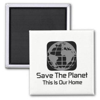 """""""Retten Sie den Planeten, diesen ist unser Quadratischer Magnet"""