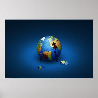 Retten Sie den Planeten Plakatdrucke