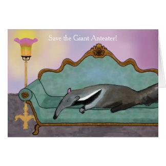 Retten Sie den riesigen Anteater Karte