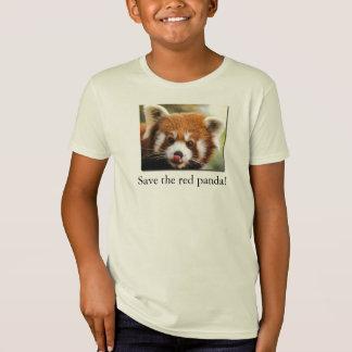 Retten Sie den roten Panda! Bio der T - Shirt-jr. T-Shirt
