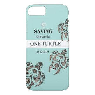 Retten Sie den Schildkröte iPhone Fall iPhone 7 Hülle