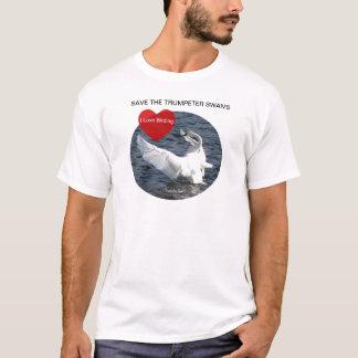 Retten Sie den Schwänen T-Shirt