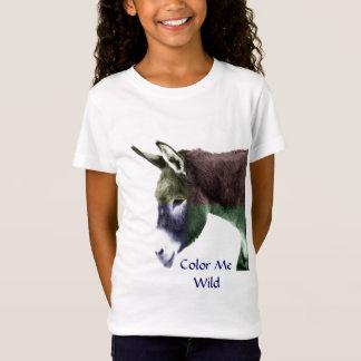 Retten Sie den wilden Burros Esel Western T-Shirt