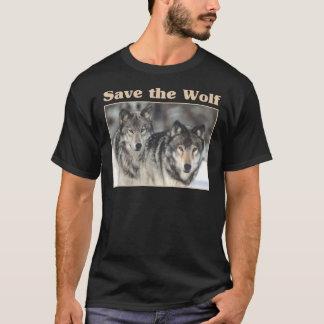 Retten Sie den Wolf T-Shirt