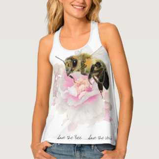 Retten Sie die Biene! Retten Sie die Welt! Hübsche Tanktop