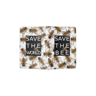 Retten Sie die Biene! Retten Sie die Welt! Leben Passhülle