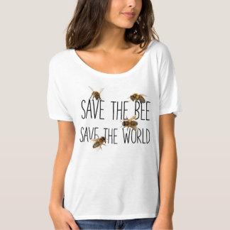 Retten Sie die Biene! Retten Sie die Welt! Leben T-Shirt