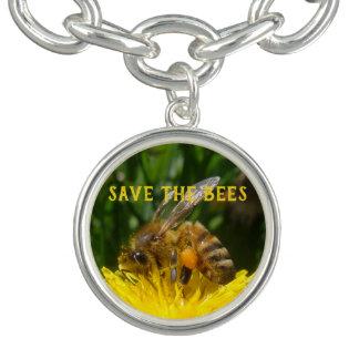 Retten Sie die Bienen, bauen Sie Löwenzahn an Charm Armband