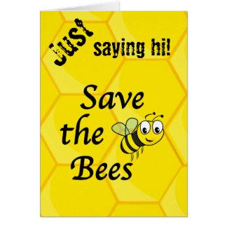 Retten Sie die Bienen Karte