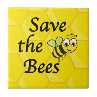 Retten Sie die Bienen Keramikfliese