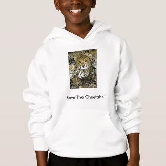 Retten Sie die Cheetahs Hoodie