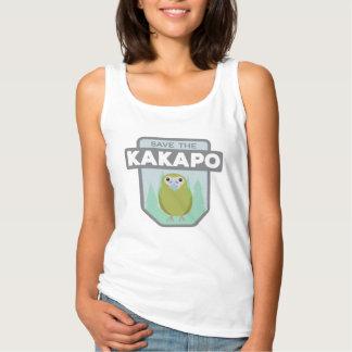 Retten Sie die der Kakapo-der Behälter-Spitze Tanktop