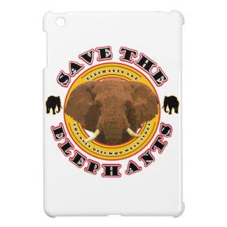 Retten Sie die Elefanten iPad Mini Hülle
