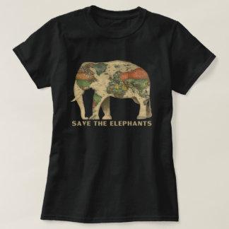 Retten Sie die Elefanten T-Shirt