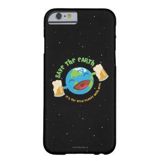 Retten Sie die Erde Barely There iPhone 6 Hülle