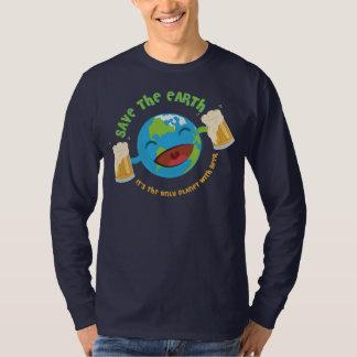 Retten Sie die Erde T-Shirt