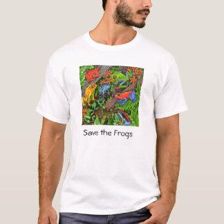 Retten Sie die Frösche T-Shirt