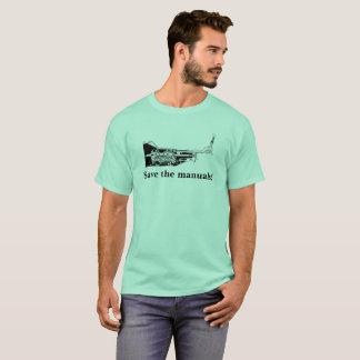 Retten Sie die Handbücher! T-Shirt