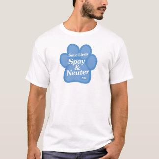 Retten Sie die Leben, Spay u. neutralisieren Sie T-Shirt