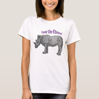 Retten Sie die Rhinos! T-Shirt