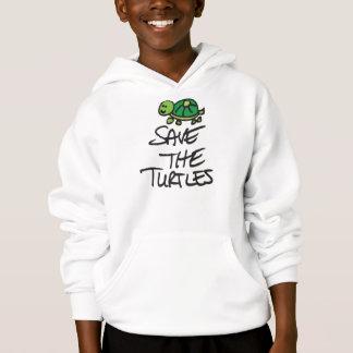 Retten Sie die Schildkröten Hoodie