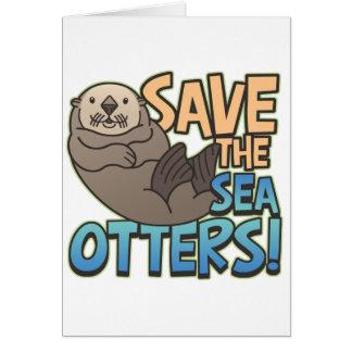 Retten Sie die Seeotter Karte