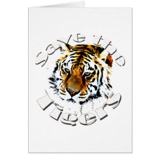 Retten Sie die Tiger Karte