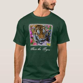 Retten Sie die Tiger T-Shirt