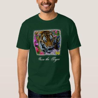 Retten Sie die Tiger Tshirts