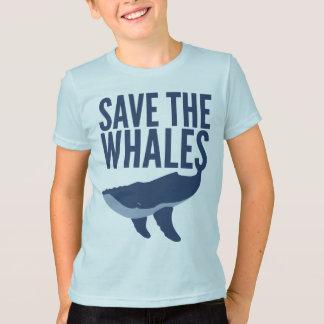 Retten Sie die Wale (Kinder) T-Shirt