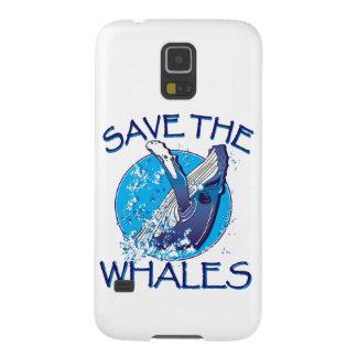 Retten Sie die Wale Samsung Galaxy S5 Cover