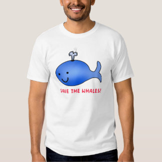 Retten Sie die Wale! Shirts