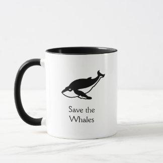 Retten Sie die Wale Tasse