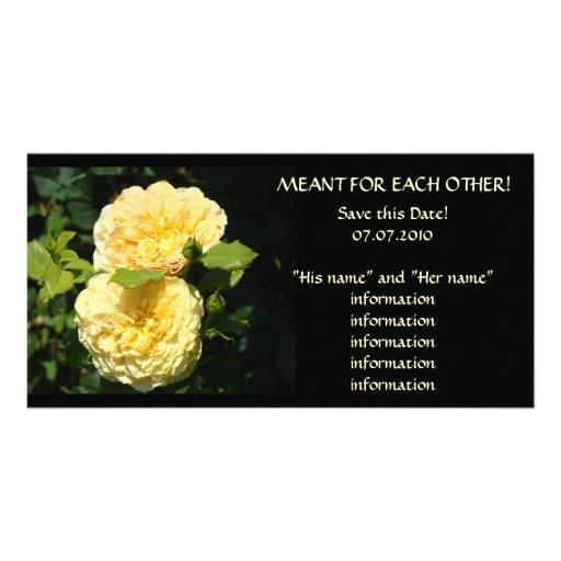 Retten Sie dieses Datum! Heirat-Mitteilungs-Hochze Bild Karte
