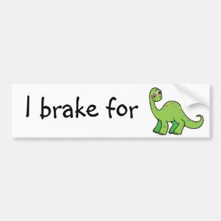 retten Sie Dinosaurier Autoaufkleber