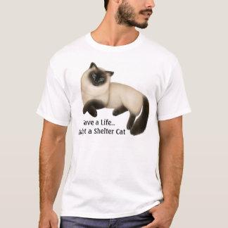 Retten Sie ein Leben. Adoptieren Sie einen T-Shirt